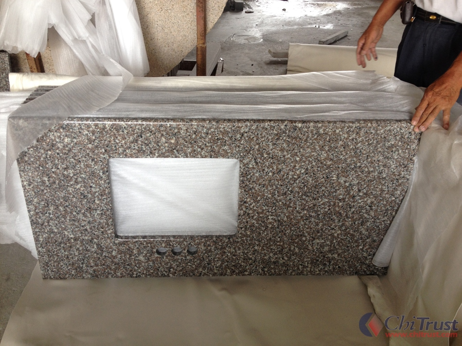 G664 Granite Bath Vanity Top