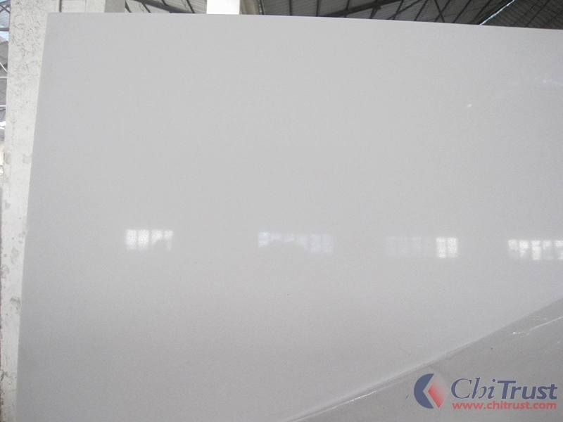 Pure white CTAQ001 Artificial quartz