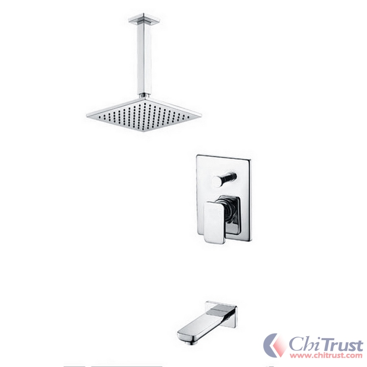 Shower Faucet With Brass Shower Head 4861