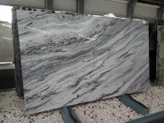 Beautiful 2 cm Grey ButterFly Granite Slab