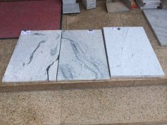 china snow white granite tiles