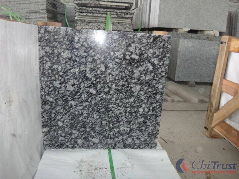 China Sea Waves White Granite Tile Granite Tiles