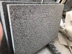 Flamed G641 Georgia Grey Granite Tile