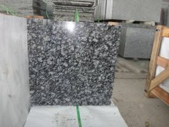 China sea waves  white granite tile