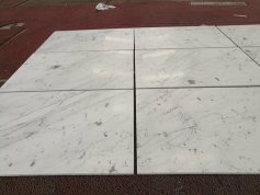 White Statuari Marble tile