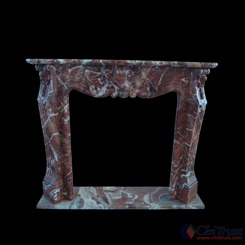 New item stone marble fireplace