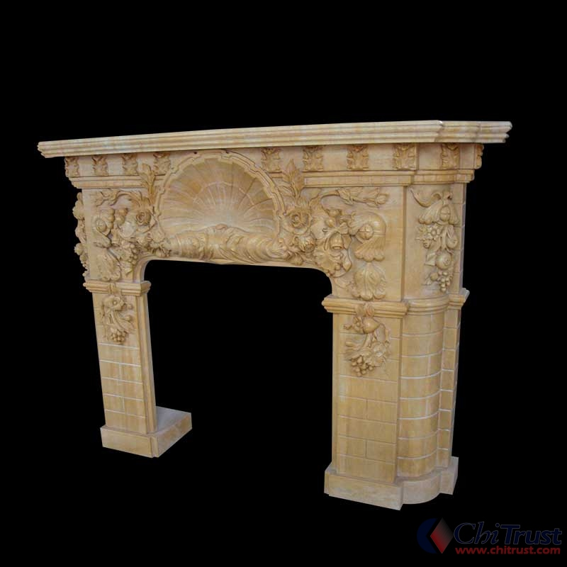 Decorative Marble stone fireplace