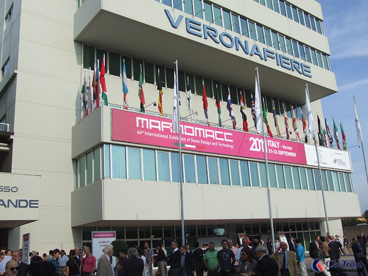 Italy Verona International Exhibition of stone and technolog