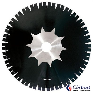 "18""GR-29 SPLIT SEGMENT DIAMOND BRIDGE SAW BLADE"