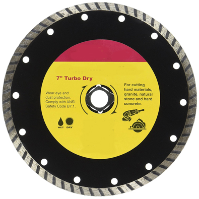 Turbo Rim Blades - Granite/Natural Stone