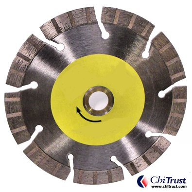 Turbo Segmented Blades - Hard Material