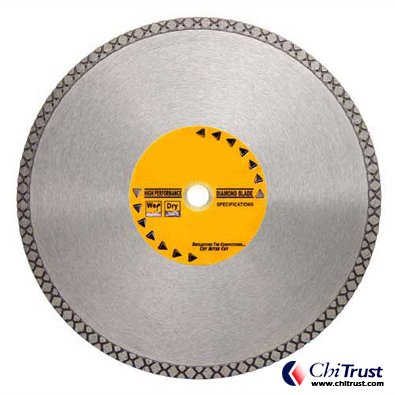 Diamond Pattern Rim Blades - Natural Stone