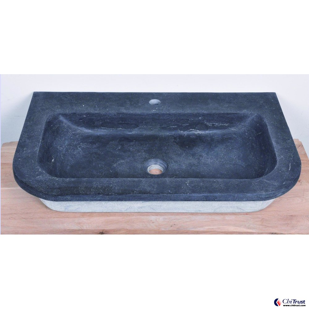 Blue stone basin CT-024
