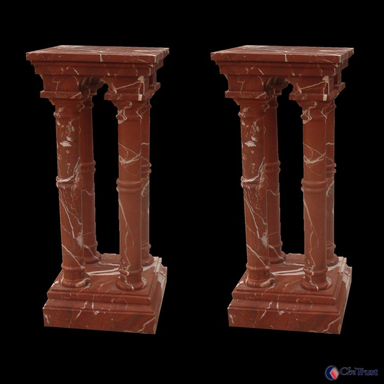 Chinese outdoor decorative stone column