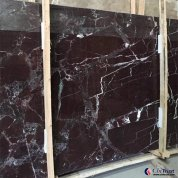 Lilac dark purple marble stone