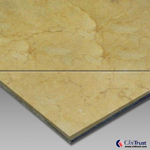 Gold ShellAluminium Plastic Laminated Panel