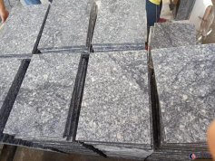 Ash grey granite tile