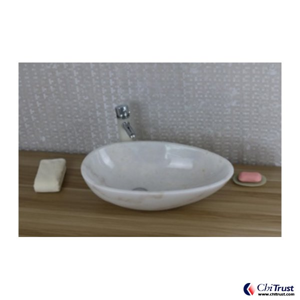 Guangxi White stone basin CT502