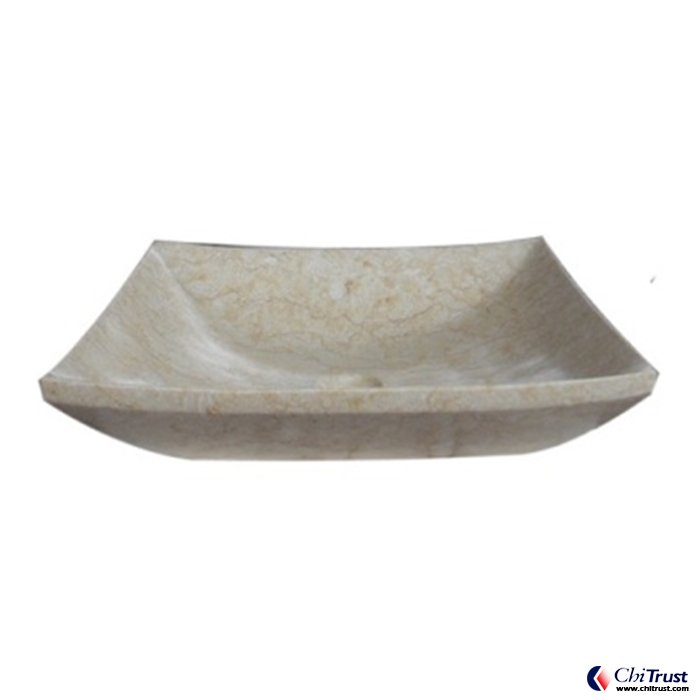 U type stone basin CT258