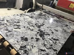 Luxury Alpinus white granite