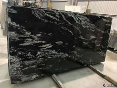 Nero Fantasy granite slab