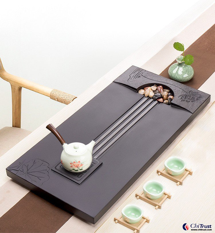 Hot selling Chinses stone tea tray